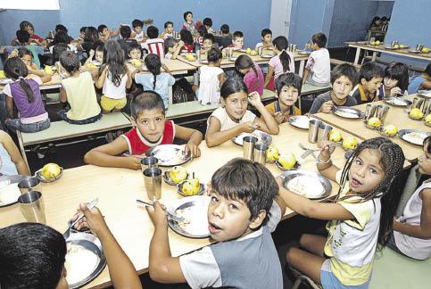 Los comedores escolares y los algoritmos del indec for Trabajo de comedor escolar